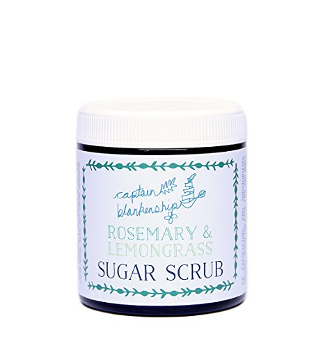 Captain Blankenship – Organic Rosemary & Lemongrass Sugar Scrub (For Face, Body + Lips)