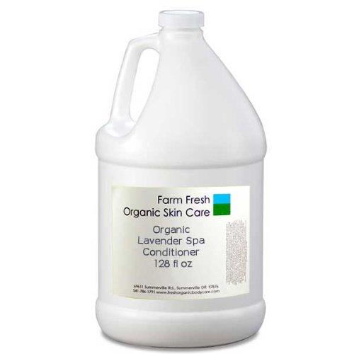 Organic Lavender Spa Conditioner Bulk – 128 oz (Gallon)