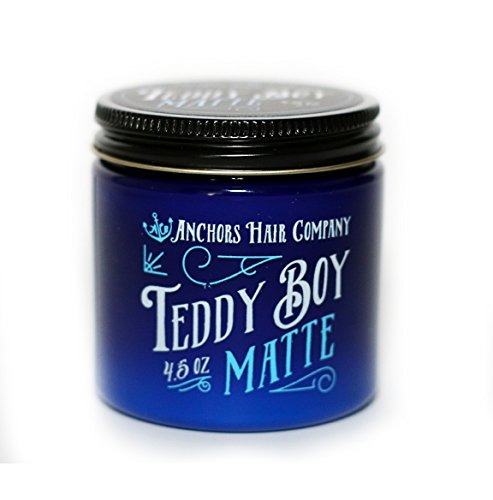 Anchors Hair Company Teddy Boy Matte Water Based Dry Matte Wax 4.5oz