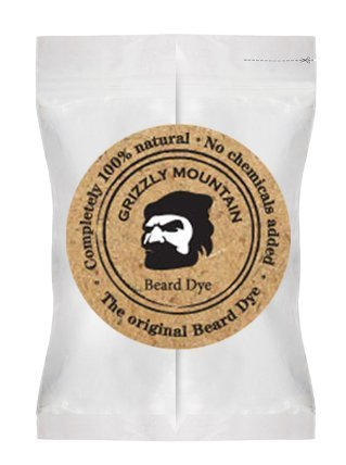 Organic & Natural Black Beard Dye With Organic Base (black)