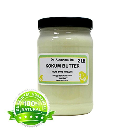 Kokum Butter RAW Organic 100% Pure 32 Oz/ 2 Lb