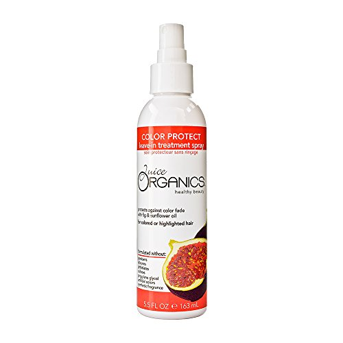 Juice Organics Color Protect Leave-In Treatment Spray, Fig, 5.5 fl. oz.