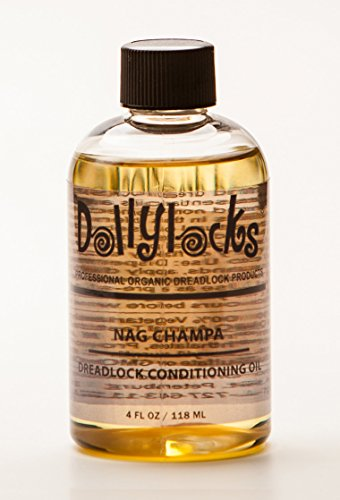 Dollylocks 4oz Nag Champa Dreadlock Conditioning Oil