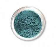 SpaGlo® Peacock Teal Mineral Eyeshadow- Warm Based Color