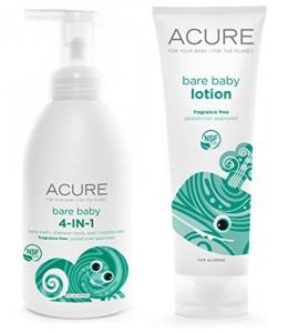 Acure Organics Bare Baby 4 In 1 Foamer Baby Shampoo Baby
