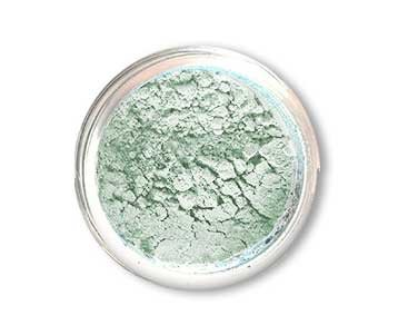 SpaGlo® Mint Shimmer Mineral Eyeshadow- Cool Based Color