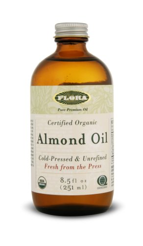Flora Almond Oil Certified Organic 8.5-Ounces