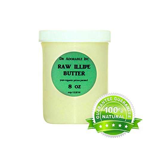 RAW Illipe Butter Organic 100% Pure 8 Oz