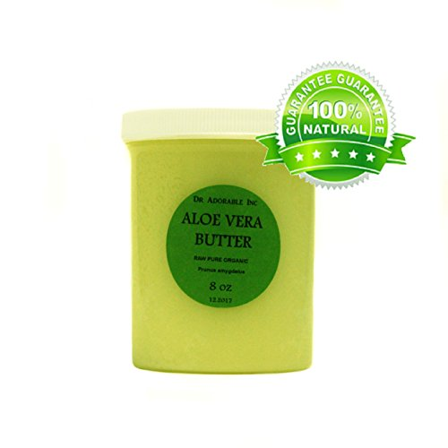 Aloe Vera Butter Pure Organic by Dr. Adorable 8 Oz