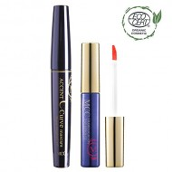 MCC C Curve Lengthening Mascara + ECOCERT Organic Tint Lip Rouge Set (601)