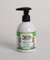 Vermont Soap Organics – High Moisturizing Sweetgrass Shea Bath and Shower Gel 8oz
