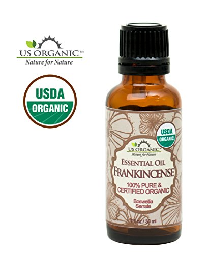US Organic 100% Pure Frankincense Essential Oil – USDA Certified Organic – 30 ml