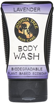 Joshua Tree Body Wash, Shampoo – Biodegradable Plant Based Eco Soap with Organic Ingredients (Lavender)