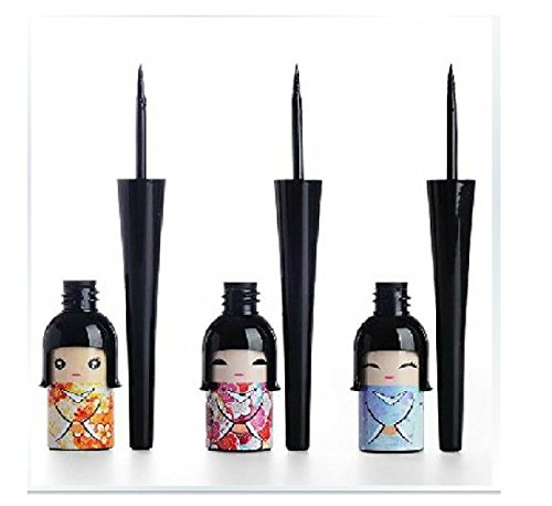 Thinkmax Lucky Doll Liquid Eye Liner Waterproof and Sweatproof Hard Head Cartoon