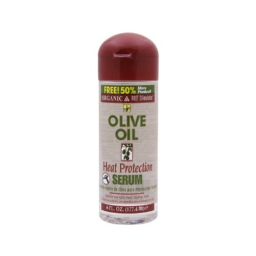 Organic R/S Root Stimulator Olive Oil Heat Protection Serum, 6 Ounce