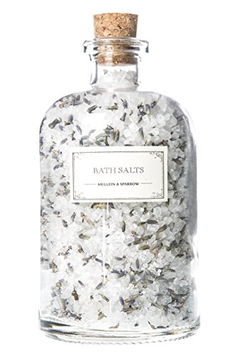 Mullein & Sparrow – Organic Limited Edition Lavender Bath Salts (18 oz)