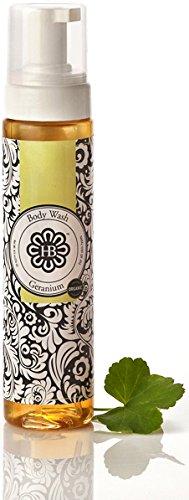 HollyBeth Organics – Geranium Foaming Face + Body Wash