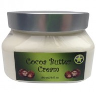 Organic Cocoa Butter Cream by Arnies Amazing, 6 Ounce Container of Non Greasy, Ready to Use Body Butter