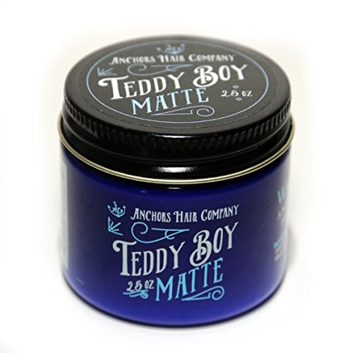 Anchors Hair Company Teddy Boy Matte Water Based Dry Matte Wax 2.5oz