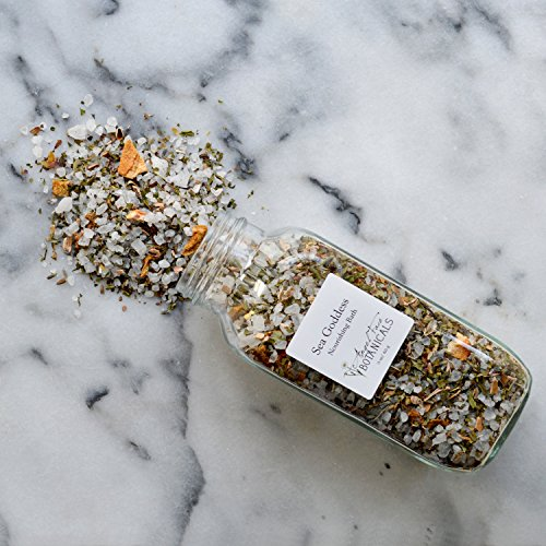 Sea Goddess Organic Herbal Bath Salts – Organic Aromatherapy Bath Tea with Essential Oils and Seaweed