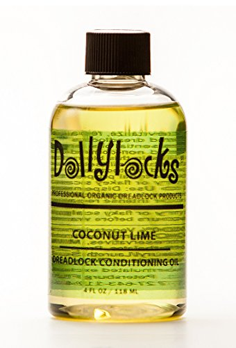 Dollylocks 4oz Coconut Lime Dreadlock Conditioning Oil