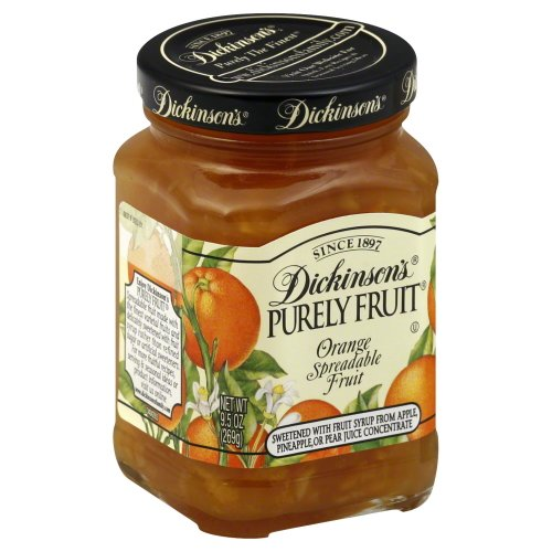 Dickinson's Preserves, Orange Marm, 9.50-Ounce (Pack of 6)