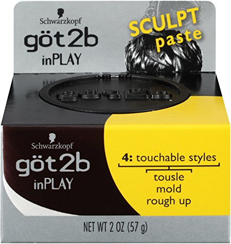Got2b Inplay Hair Paste, 2.0 Ounce