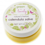 Nature's Herbal Calendula Salve, Multipurpose Skin Ointment. Skin Cream. (Unscented)