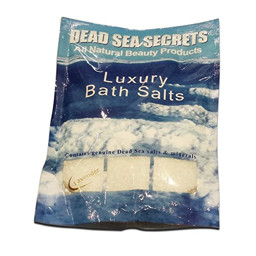 Dead Sea Luxury Bath Salts✔ Original Pure Natural Dead Sea Salts & Soothing Lavender Oil✔ Soak in the Best Dead Sea Salt Formula for Detox, Relaxation, Spa Skin Treatment, Sprains & Muscle Aches✔ All Organic Spa Quality Skin Care✔ 100% Money Back Guarantee✔ Leading Beauty Spa Skin Therapy Now for Men & Women At Home