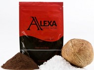 ALEXA: Organic KONA Coffee Scrub with Dead Sea Salt and Organic Olive Oil, Sweet Almond Oil, Grape Seed Oil, Shea Butter, & More (8oz)