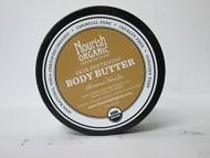 Nourish Organic Body Butter, Vanilla Almond, 3.6 Ounce