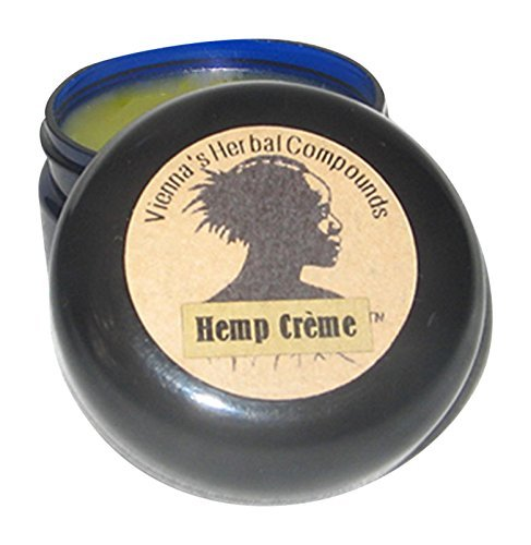 Hemp Creme – Deeply Moisturizing, Easily Absorbed, 100% All Natural Healing Skin Care for Even the Driest Skin Conditions. Handcrafted with Hemp Seed Oil, Hemp Seed Butter and Organic Coconut Oils. No Fragrance. 2 Oz Great Valentines Day Gift!