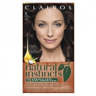 Clairol Natural Instincts  28 Nutmeg Dark Brown 1 Kit  (Pack of 3)
