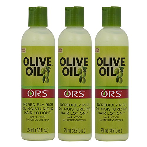 Organic Root Stimulator Olive Oil Moisturizing Hair Lotion, 8.5 Oz (Pack of 3)