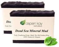 Dead Sea Mud Soap Bar – 2 Pack – 100% Organic & Natural Soap, With Activated Charcoal & Therapeutic Grade Essential Oils. Face Soap or Body Soap. For Men, Women & Teens. Chemical Free. Each Bar is 4oz