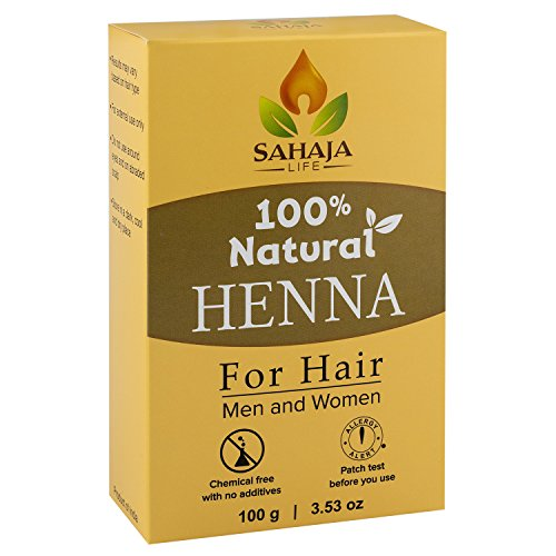 Pure Henna Hair Dye Powder (3.5 Oz) | All Natural, High Pigment Color for Hair, Root Touch Up, Beard & Eyebrows on Men & Women | Includes Bonus Prep Methods Guide