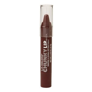 L.A. Colors Chunky Lip Pencil, Plum 0.09 oz