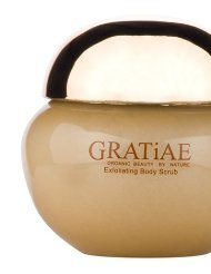 Gratiae Organic Beauty By Nature Exfoliating Body Scrub – Apple Green Tea and Ginger.