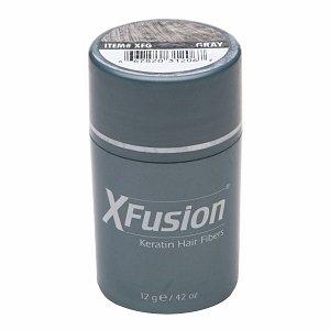 XFusion Keratin Hair Fibers, Gray 0.42 oz (12 g)