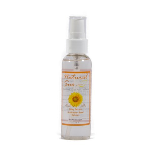 Silky Serum for Hair – Sunflower Seed Extract – 2oz