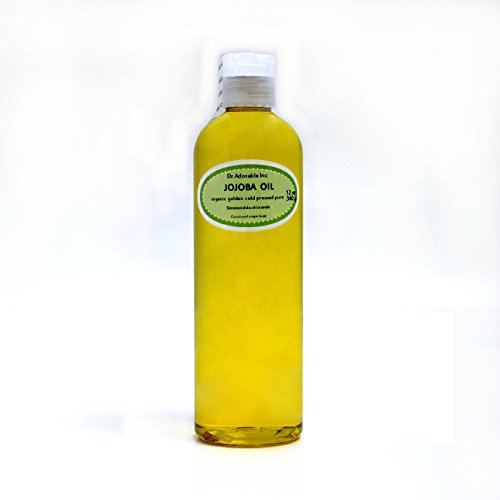 Jojoba Oil, Golden Organic 100% Pure By Dr.Adorable 12 oz