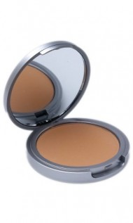 The Organic Face Luminous 100% All Natural Pressed Foundation Makeup – Almond