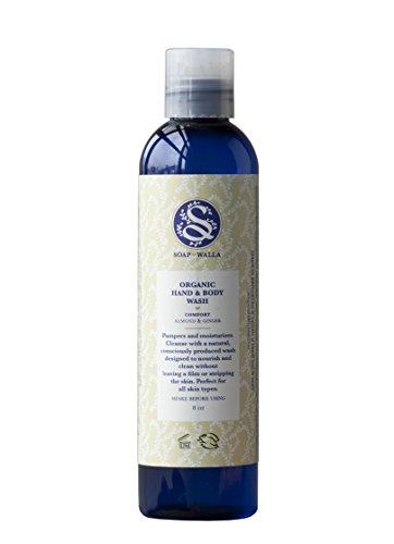 Soapwalla – Organic / Vegan Hand + Body Wash (Comfort (Almond + Ginger))