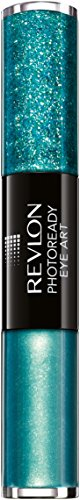 Revlon PhotoReady Eye Art Lid + Line + Lash, Green Glimmer/010, 0.1 Fluid Ounce