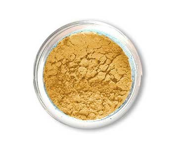 SpaGlo® Golden Luster Mineral Eyeshadow- Warm Based Color