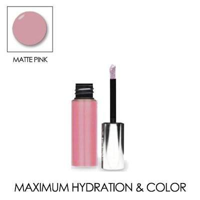LIP INK Matte Moisturizing Lip Stain Trial Size 0.12 OZ./ 3.5 ML. (Matte Pink)