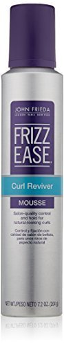 John Frieda Frizz Ease Curl Reviver Styling Mousse, 7.2 Ounce by KAO Brands