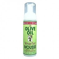Organic Root Stimulator Olive Oil Mousse, Wrap/Set – 7 oz. (Pack of 3)