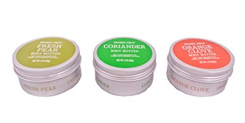 Trader Joe's Body Butter Trio: Fresh Pear, Coriander and Orange Clove