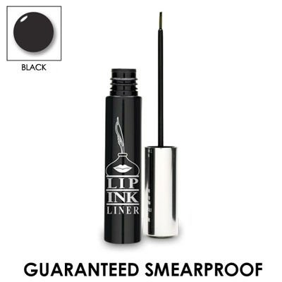 LIP INK Smearproof Waterproof Liquid Eyeliner – Black